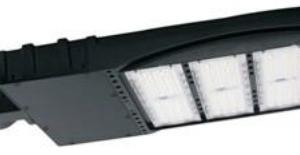 The Green Team's Shoebox LED Area Light Fixture - Black